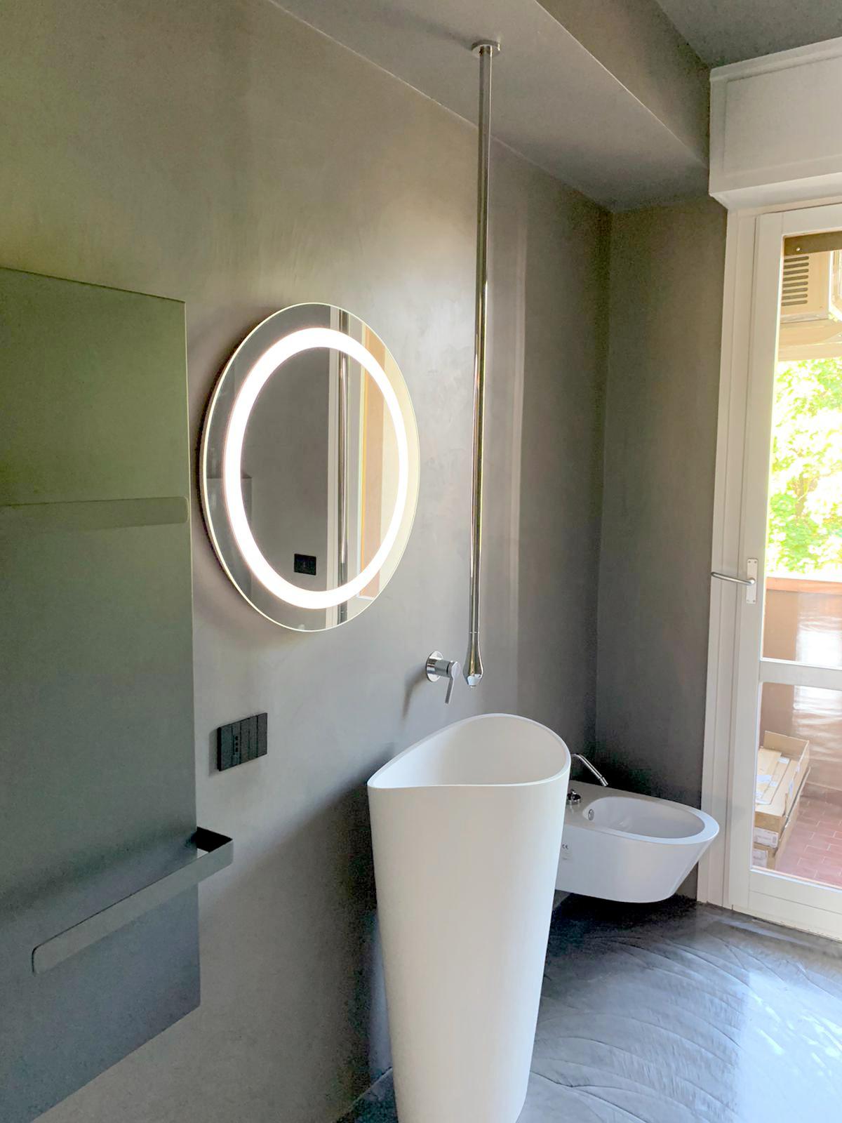 Baño microcemento MicroQuarz