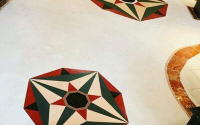 ¿Se pueden combinar colores MicroQuarz en una misma superficie?