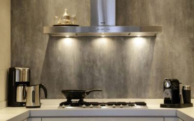 ¿Resiste MicroQuarz en  la pared de una cocina?