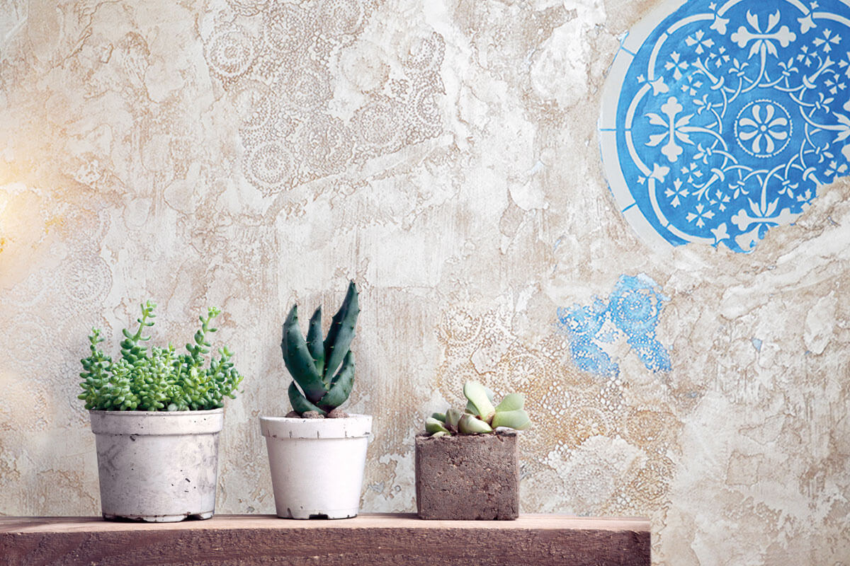 Pared decorativa